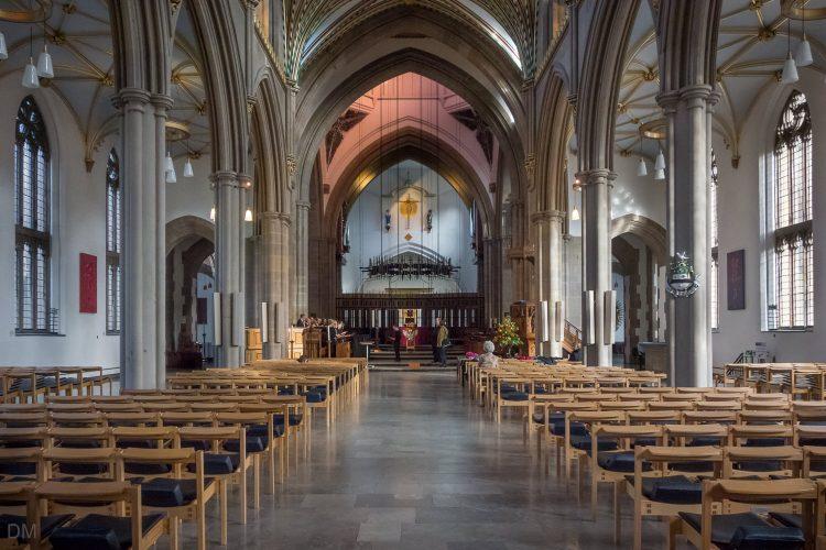 Interior of Blackburn Cathedral
