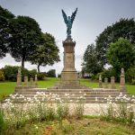 Darwen War Memorial in Bold Venture Park, Darwen, Lancashire