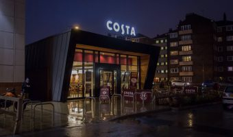 Costa cafe at Bolton Shopping Park