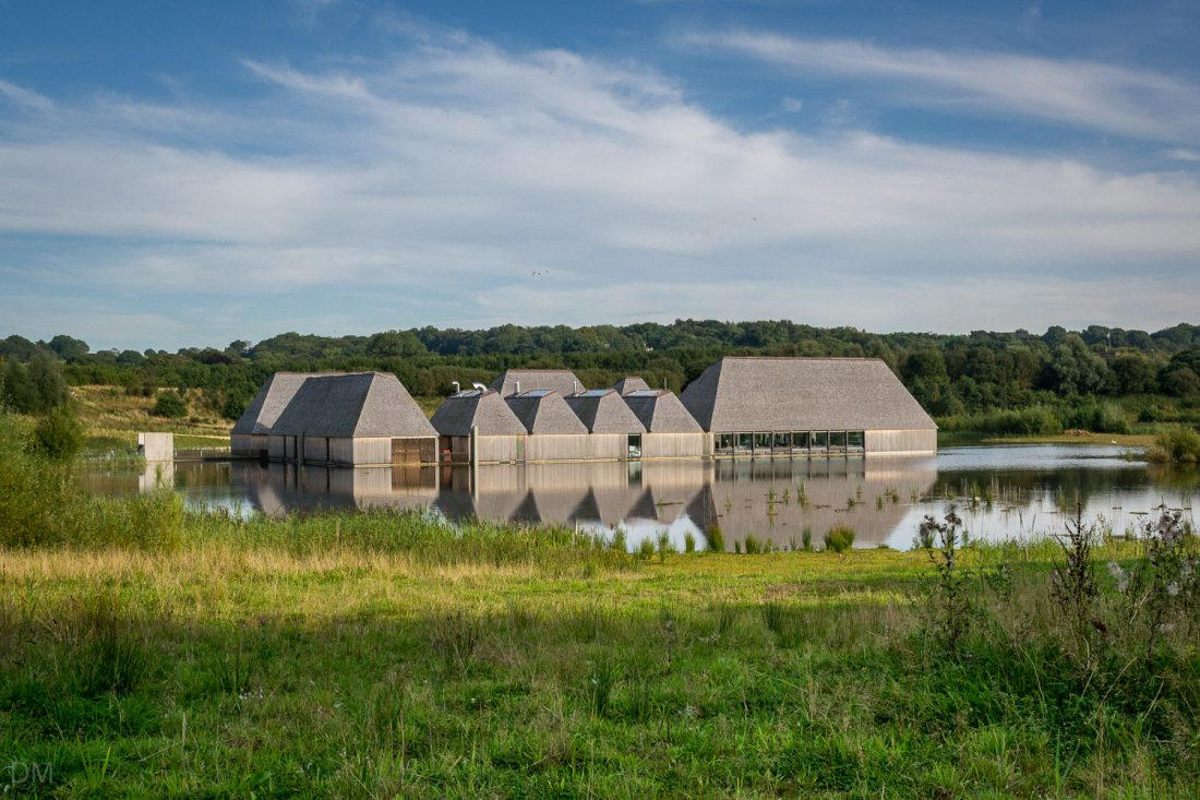 Visitor Village at Brockholes, Preston, Lancashire