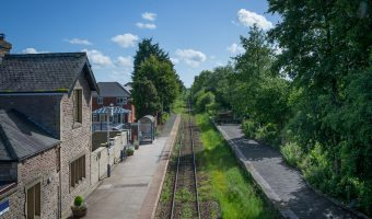 Croston Train Station in Lancashire