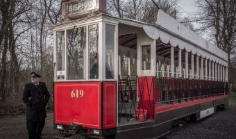 Tram at Heaton Park Tramway