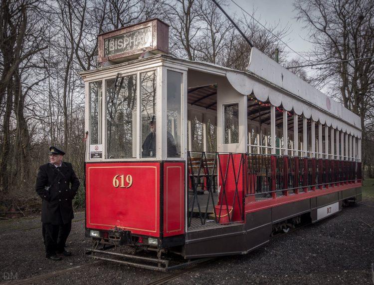Tram at Heaton Park Tramway