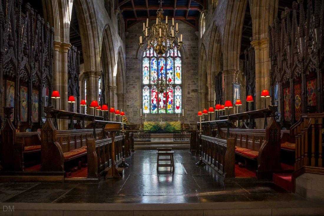 Interior of Lancaster Priory