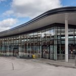 Exterior of Altrincham Interchange