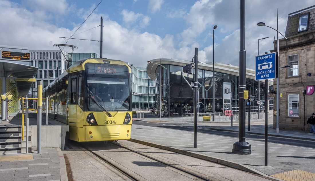 Rochdale Town Centre Metrolink Station and Rochdale Interchange