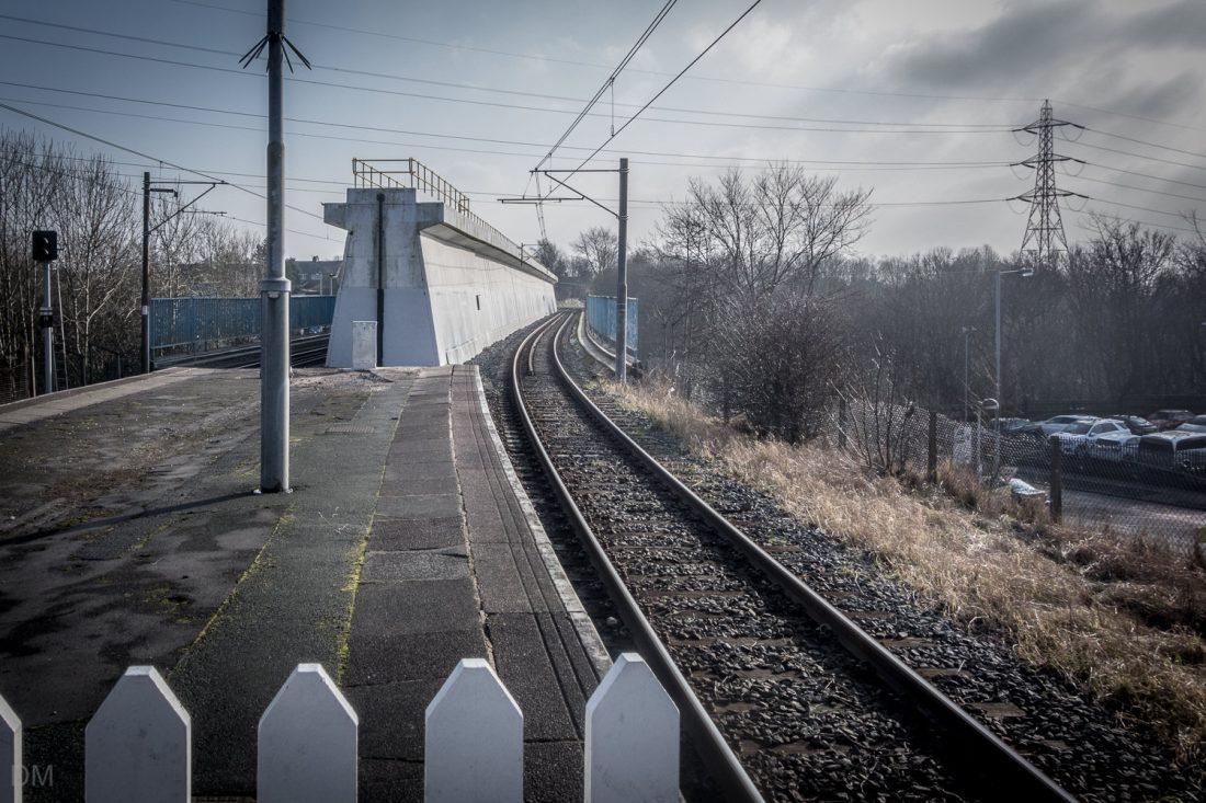 Bridge at Besses o' th' Barn Metrolink Station