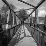 Footbridge at Stubbins near Ramsbottom