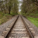 East Lancashire Railway line at Summerseat
