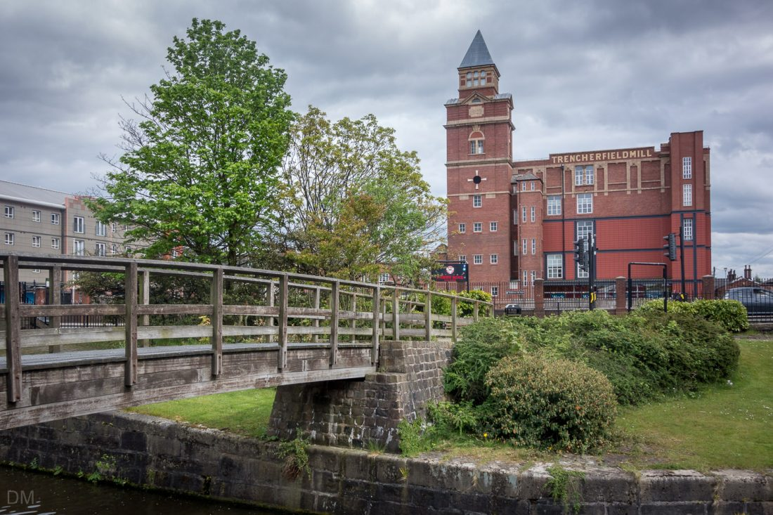 Trencherfield Mill viewed from Wigan Pier