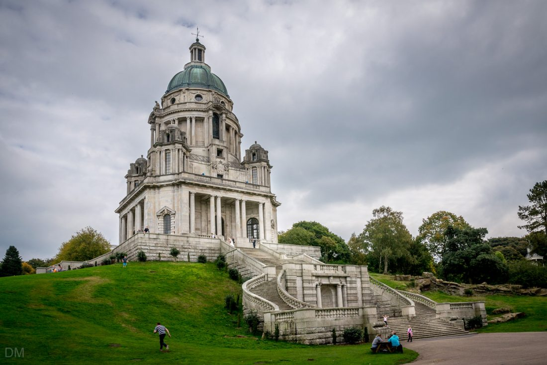 Ashton Memorial in Williamson Park, Lancaster