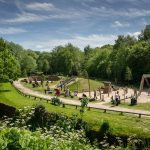 Playground at Yarrow Valley Country Park