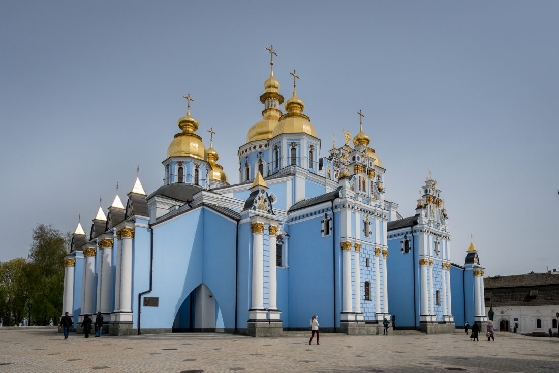 St Michael's Golden-Domed Monastery in Kiev, Ukraine