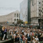Independence Day of Ukraine, Kiev city centre